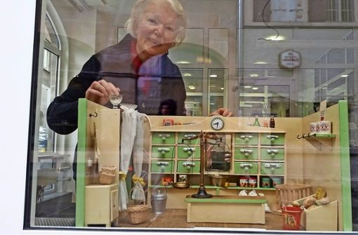 Muse-O stellt Kaufläden in unserem Innenstadtbüro aus