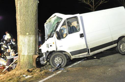 Fahrzeug kollidiert mit trächtiger Hirschkuh
