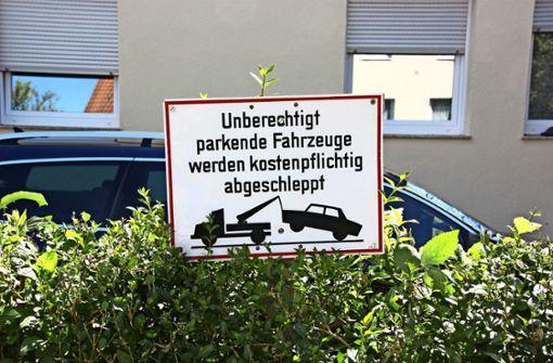 Ist bald Schluss mit dem Fremdparken?