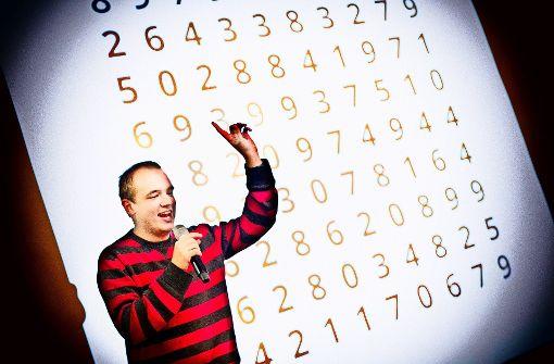 Das Mathe-Talent Johann Beurich rappt unter dem Namen  DorFuchs mathematische Formeln auf Youtube. Foto: Horst Rudel