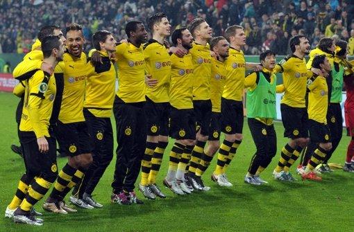 Der nächste Gegner für den VfB Stuttgart ist kein geringerer als Borussia Dortmund. Foto: dpa