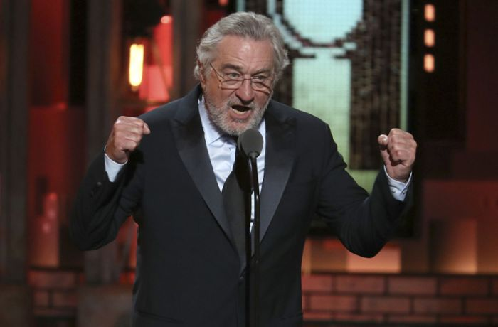 Tony Awards in New York: Robert De Niro kritisiert Trump und wird zensiert