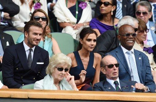 Victoria und David Beckham Foto: dpa