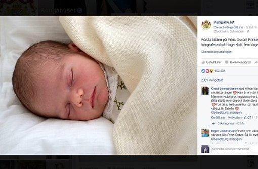 Ende Mai wird Prinz Oscar getauft