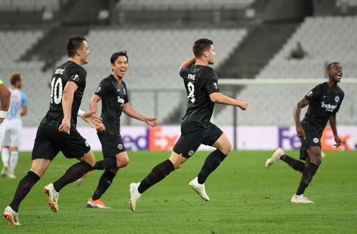 Eintracht Frankfurt siegt in Marseille vor leeren Rängen