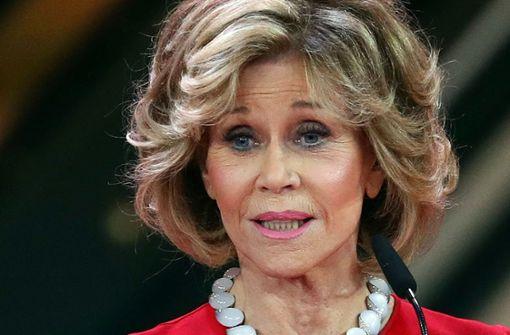 Jane Fonda blickt auf einen große Karriere zurück – und nach vorn. Foto: dpa