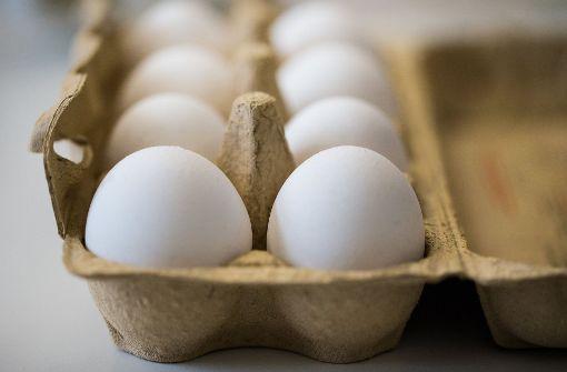 Eierkäufer sind verunsichert. Doch Experten halten die gefundenen Fipronil-Konzentrationen für unbedenklich. Foto: dpa