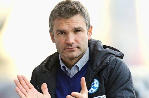 Tomislav Stipic, der Trainer der Stuttgarter Kickers. Foto: Pressefoto Baumann