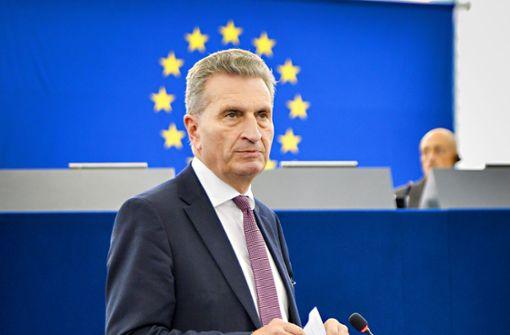 Günther Oettinger wird 65