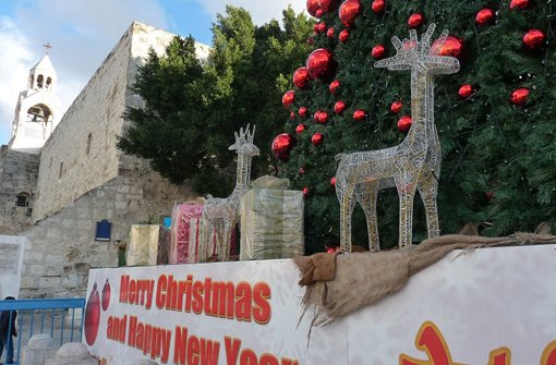 Meine Oma importiert Weihnachtsstimmung nach Israel