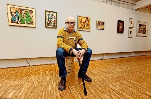 """Adam Lude Döring sieht sich selbst als """"Linienmensch"""". Foto: factum/Granville"""