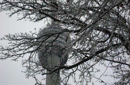 In Stuttgart ist der Winter zurück