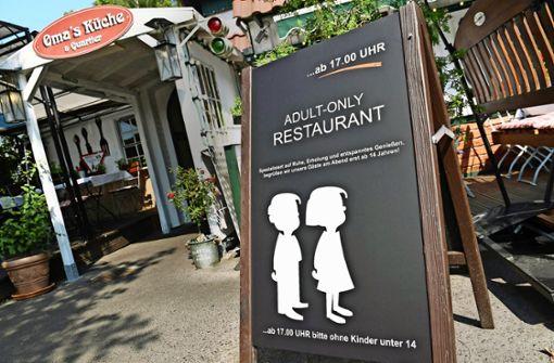 Darf ein Restaurantbetreiber Kinder ausschließen?