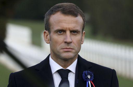 Der französische Staatspräsident Emmanuel Macron. Foto: AFP