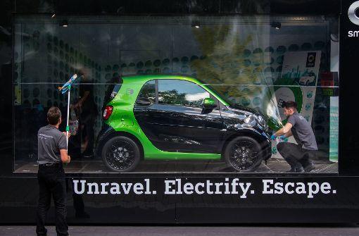 Zetsche: Mercedes wird komplett elektrifiziert, Smart bald nur noch als Elektroauto