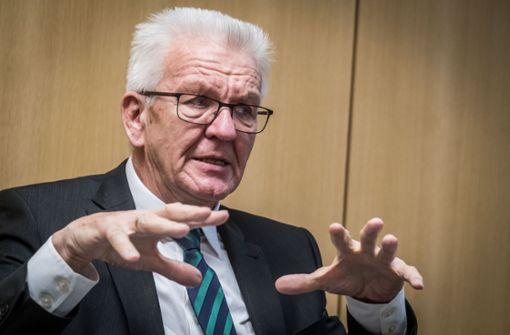 Das sagt Ministerpräsident Winfried Kretschmann zum Datenklau