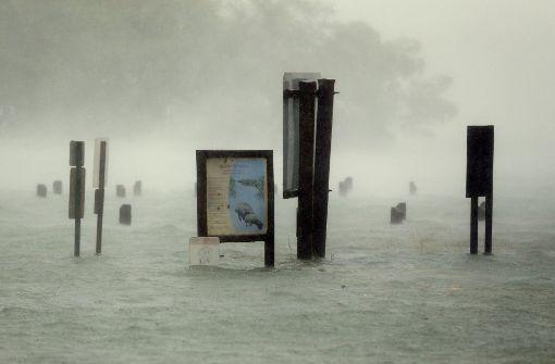 Der Sturm tobt auch im Netz