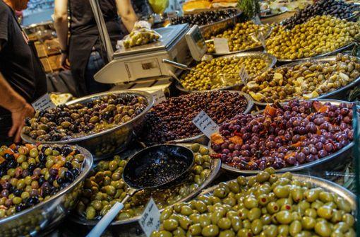 """Regionale Spezialitäten sind an Markenzeichen der Slowfood-Messe """"Markt des guten Geschmacks. Foto: SDMG"""
