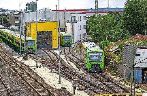 Strohgäubahn-Werkstatt lauter als gedacht