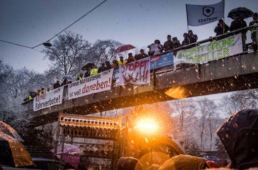 Erneuter Protest gegen Diesel-Fahrverbote