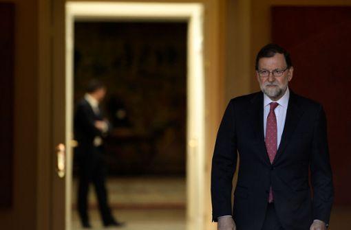 Misstrauensantrag gegen Ministerpräsident Rajoy