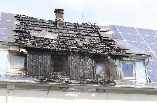 Photovoltaik-Anlage setzt Haus in Brand