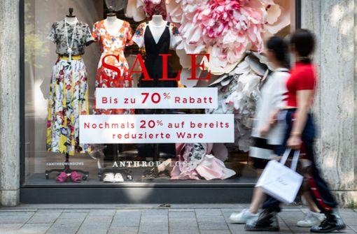 Modehandel verliert immer mehr Kunden