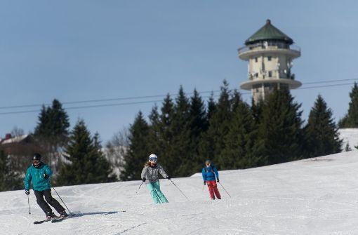Feldberg ist als erstes Gebiet in die Skisaison gestartet