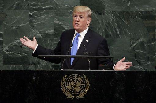 Russland grenzt sich von Trumps Drohungen ab