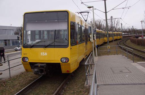 Frau von Stadtbahn verletzt