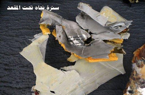 Ägypten veröffentlicht Bilder von Trümmern