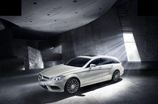 ... der CLS Shooting Brake produziert. Foto: MediaPortal Daimler AG
