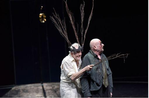 """""""Lear"""" und das Erzähltheater von Claus Peymann"""