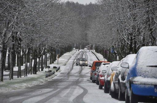 Der Winter ist da - und mit ihm wieder jede Menge Chaos auf den Straßen. In Stuttgart passieren an den ersten Schneetagen etwa doppelt so viele Unfälle wie sonst. Hier die besonders gefährlichen Straßen in Stuttgart: Foto: Fotoagentur Stuttgart