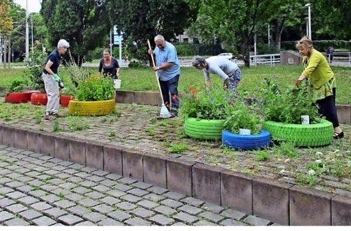 Offizielles Lob für den Reifengarten