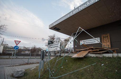 """Sturmtief """"Egon"""" wütet über Stuttgart"""