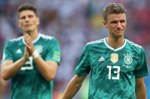 Aus und vorbei: Bittere Stunde für die DFB-Elf in Kasan