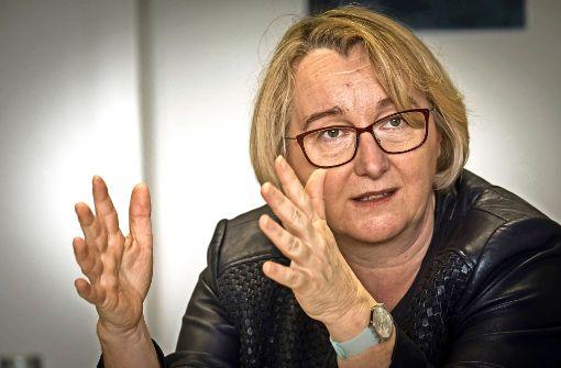 Unter Druck: Wissenschaftsministerin Theresia Bauer (Grüne) Foto: Lichtgut/Achim Zweygarth