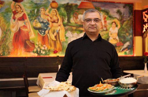 Namaste India in Stuttgart – Am Berliner Platz in Stuttgart hat eine Filiale des Dürrlewanger Restaurants Namaste India eröffnet. Auf der Karte stehen nordindische Spezialitäten, etwa Tandoori-Gerichte. a href=https://www.stuttgarter-nachrichten.de/inhalt.restaurant-test-namaste-india-in-stuttgart-mehr-schaerfe-bitte.4c8ed90b-dac2-4898-b737-4c5991cdfd70.html target=_blankHier geht es zum Test/a. Foto: Lichtgut/Jan Reich