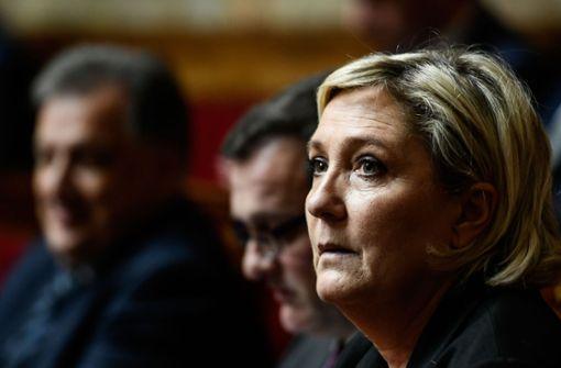 Marine Le Pen muss sich neu erfinden