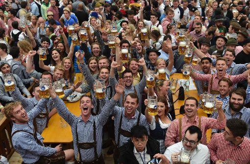 """O'zapft is""""! heißt es wieder auf dem Münchner a href=/thema  Oktoberfest target=_blankOktoberfest"""