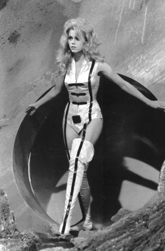 """Mit """"Barbarella"""" wurde Jane Fonda 1968 zur modernsten der Erotikgöttinnen Hollywoods. Foto: dpa"""