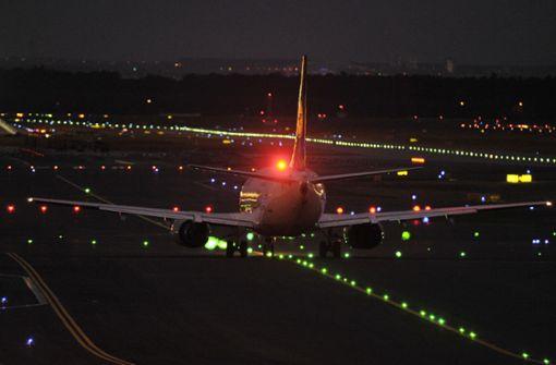 Mit Laserpointer auf Flugzeuge gezielt