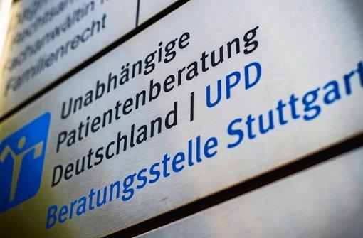 Noch gibt es in Stuttgart eine Unabhängige Patientenberatung Foto: Lichtgut/Max Kovalenko