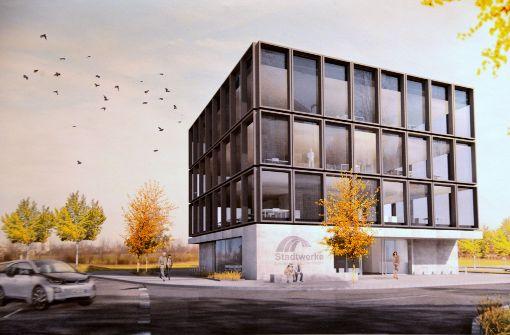 Der Stadtwerke-Neubau wird sehnsüchtig erwartet