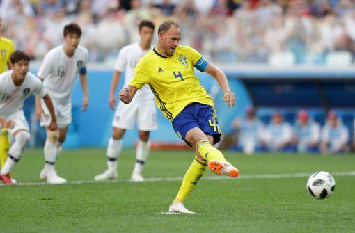 Schweden mühen sich zum 1:0-Sieg gegen Südkorea