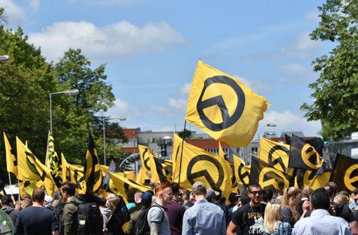 Identitäre Bewegung jetzt auch in Sillenbuch unterwegs