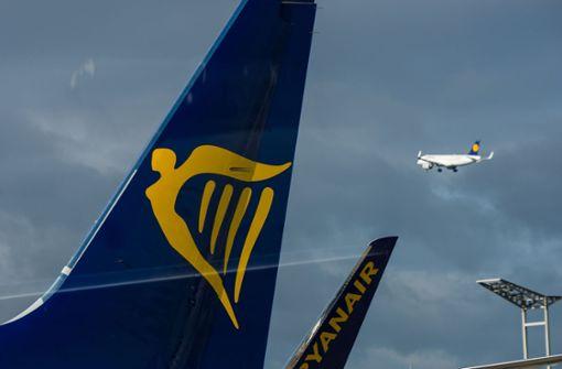 Streik bei Ryanair betrifft 40000 Passagiere in Deutschland