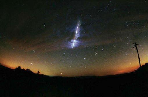 Hier können Sie den Sternschnuppenregen verfolgen