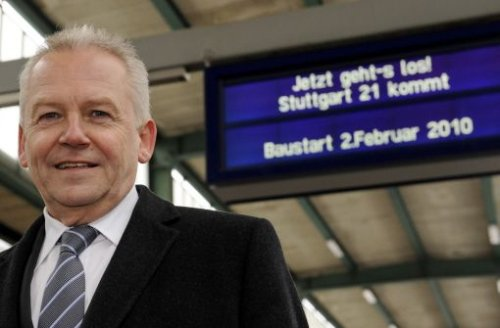 Bahn-Chef Rüdiger Grube. Foto: dpa